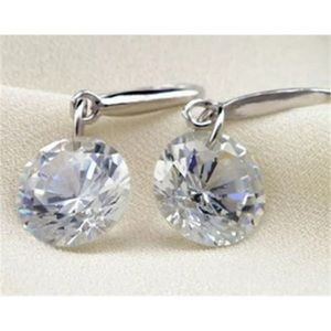 Tina Crystal Dew Drop Earrings